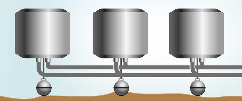 ThermoGenius™ Water M schakelbaar voor extra vermogen